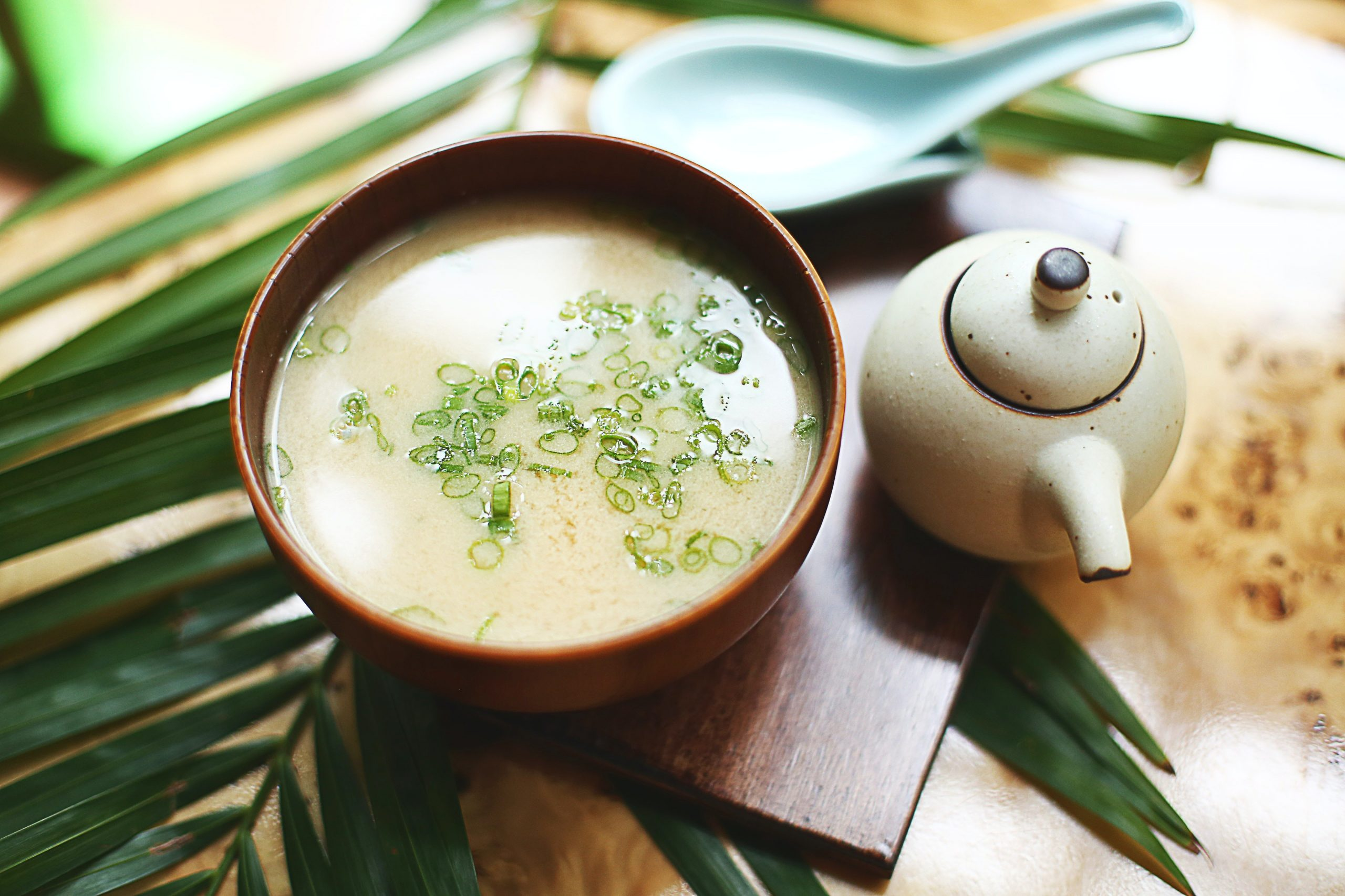 A Picture of a japanese soup